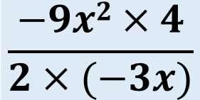 中2数学:式の計算3(単公式の乗法・除法)